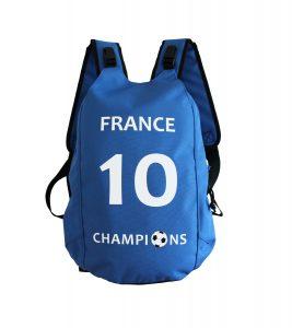 Backpack for Kids France No. 10 Football, Soccer
