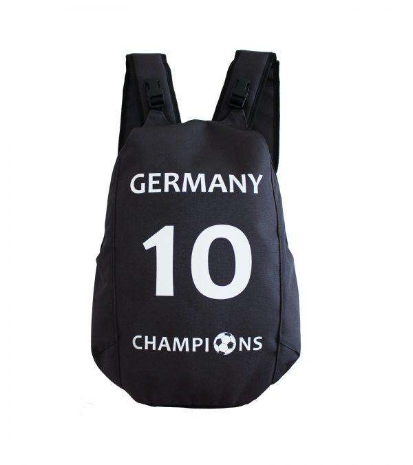 Germany Football backpack no. 10 champion